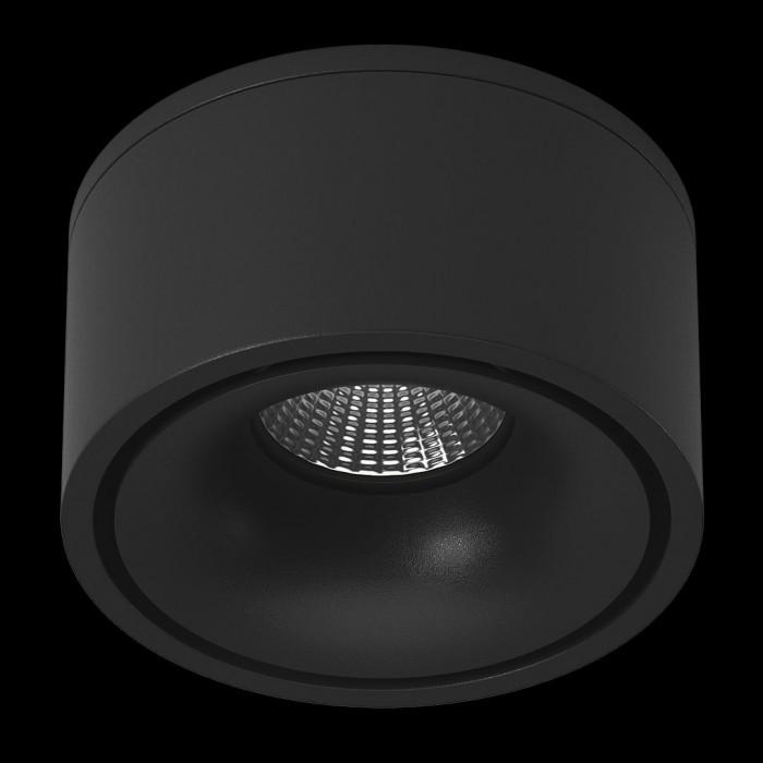 1Светильник светодиодный потолочный встраиваемый поворотный, серия MJ-1001, черный, 13Вт, IP20, Теплый белый (3000К)