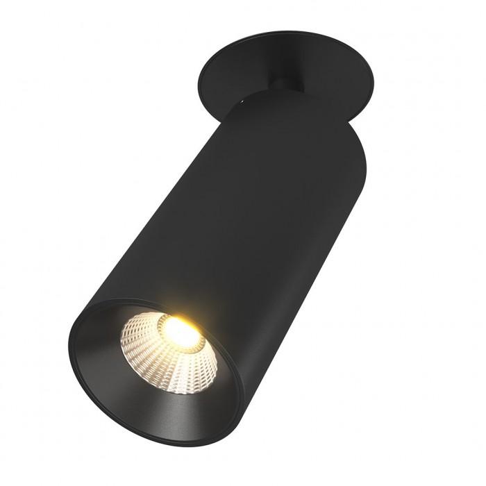 2Крепление сменное М4 для светильников VILLY, поворотное встраиваемое, цвет черный