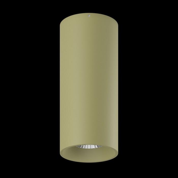 1Светильник VILLY, потолочный накладной, 15Вт, 3000K, бежевый