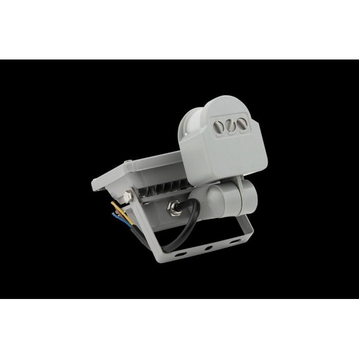 2Прожектор светодиодный с датчиком движения 6500К Холодный белыйK FL-COB-10-CW-S