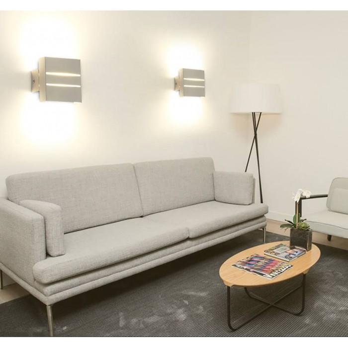 2Бра декоративное RAZOR DBL, белый, 5Вт, 3000K, IP20, GW-7002-5-WH-WW