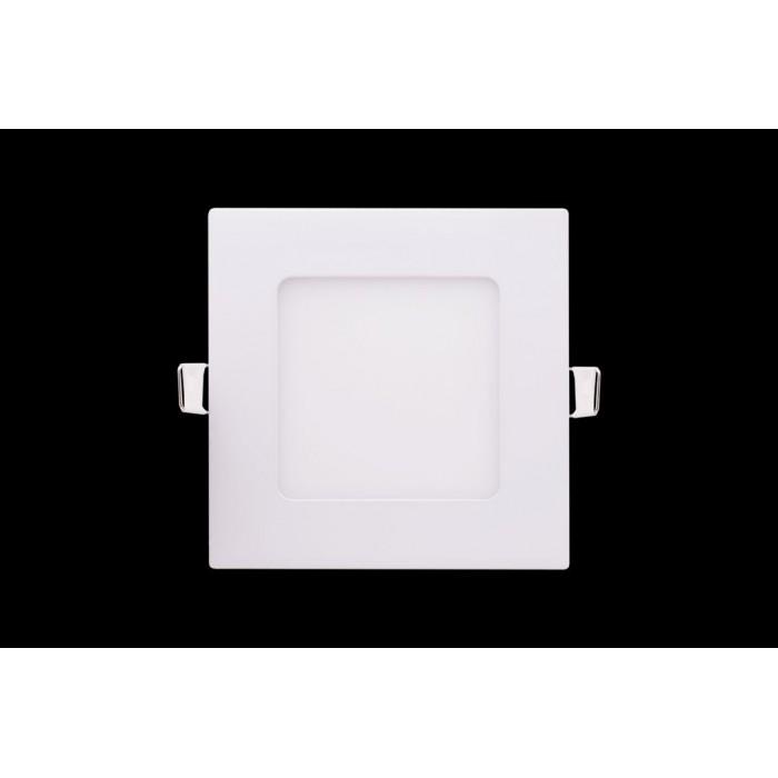 2Светильник светодиодный потолочный встраиваемый PL, Белый, Пластик + алюминий, Нейтральный белый (4000-4500K), 6Вт, IP20