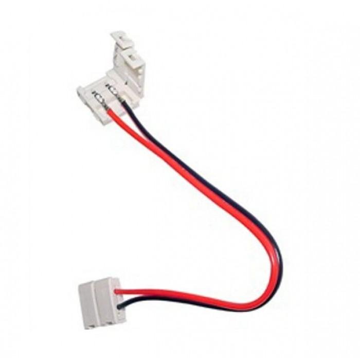 2Коннектор для ленты 5050 двуxсторонний (ширина 10 мм,длина провода 15 см )