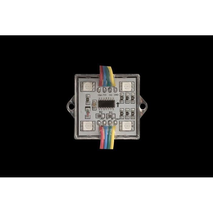 2Модуль светодиодый SWG, 4LED, 0,96Вт, 12В, IP65, Цвет: RGB, провод 15см