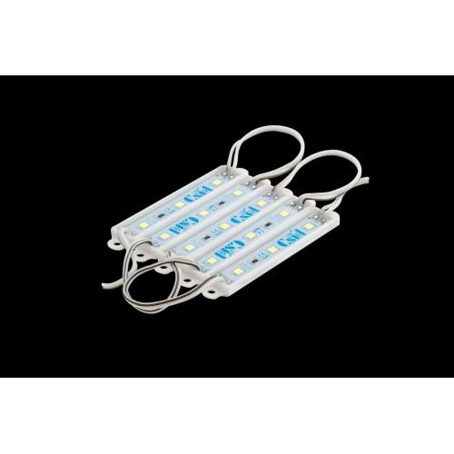Модуль светодиодый SWG, 3LED, 0,67Вт, 12В, IP65, Цвет: 6500-7000К Холодный белый, провод 9см