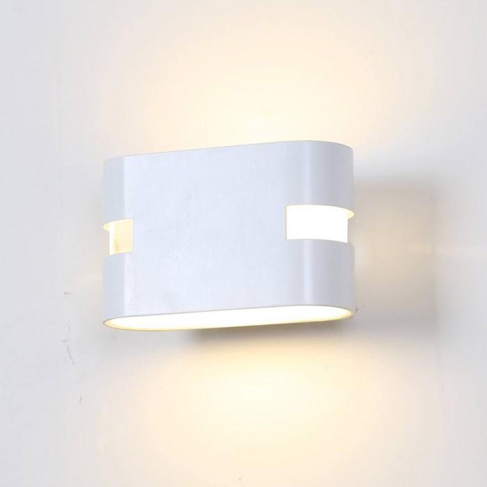 1Бра декоративное RAZOR HR, белый, 6Вт, 3000K, IP20, GW-1556-6-WH-WW