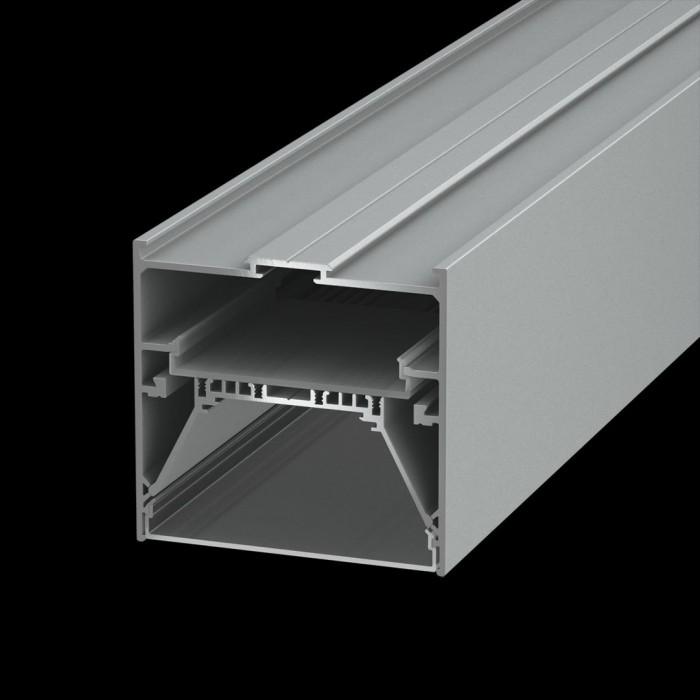 1Подвеснойвстраиваемый/накладной алюминиевый профиль L9086