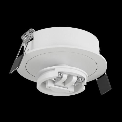 Крепление сменное М4 для светильников MINI VILLY, поворотное встраиваемое, цвет белый