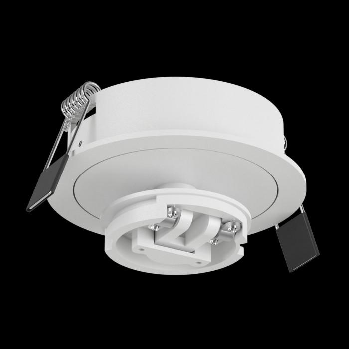 1Крепление сменное М4 для светильников MINI VILLY, поворотное встраиваемое, цвет белый