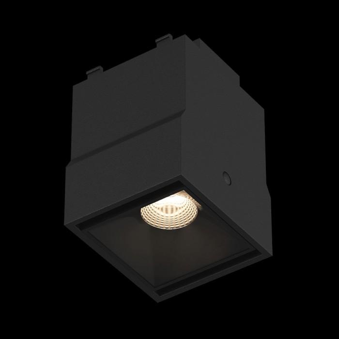 2Трековый светильник SY 2W черный 4000К SY-601231-BL-2-NW