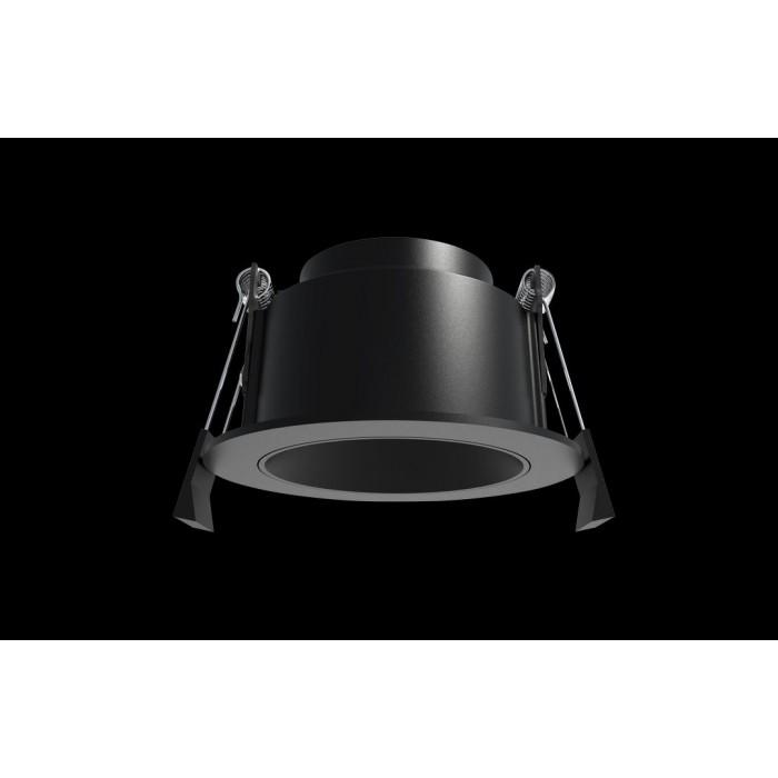 1Светильник под лампу Gu10 потолочный встраиваемый, серия DL-MJ-1031, черный, 35 (max)Вт, IP20