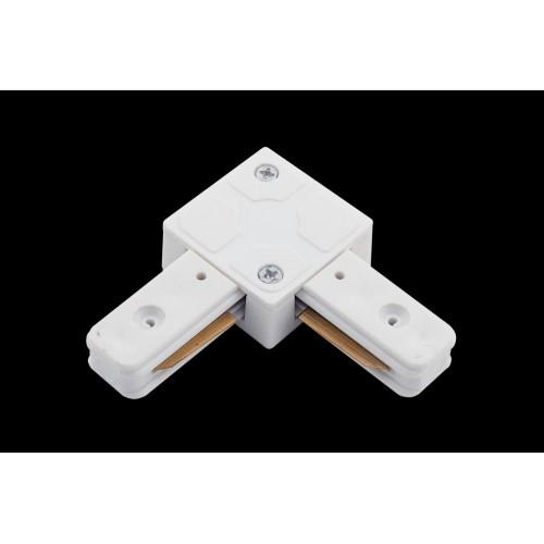 L коннектор для однофазных трековыx систем, Белый