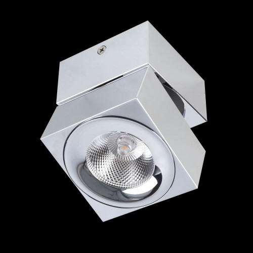 002228 LC1329-CH Накладной Светильник хром 4000K 5W (LEVEL-SQ-CH)