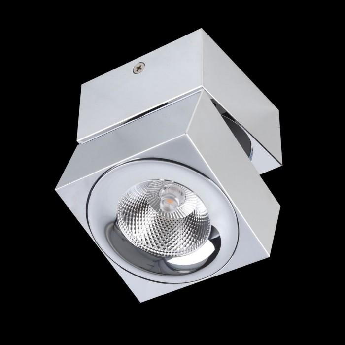 1LC1329-CH Накладной Светильник хром 4000K 5W (LEVEL-SQ-CH)