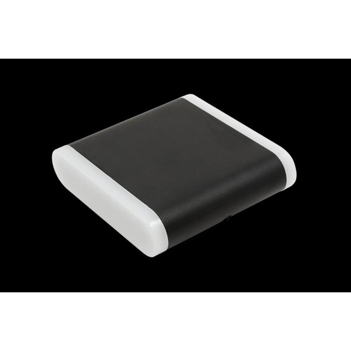 1Настенный светильник BRAVO, черный, 6Вт, 4000K, IP54, GW-6080S-6-BL-NW