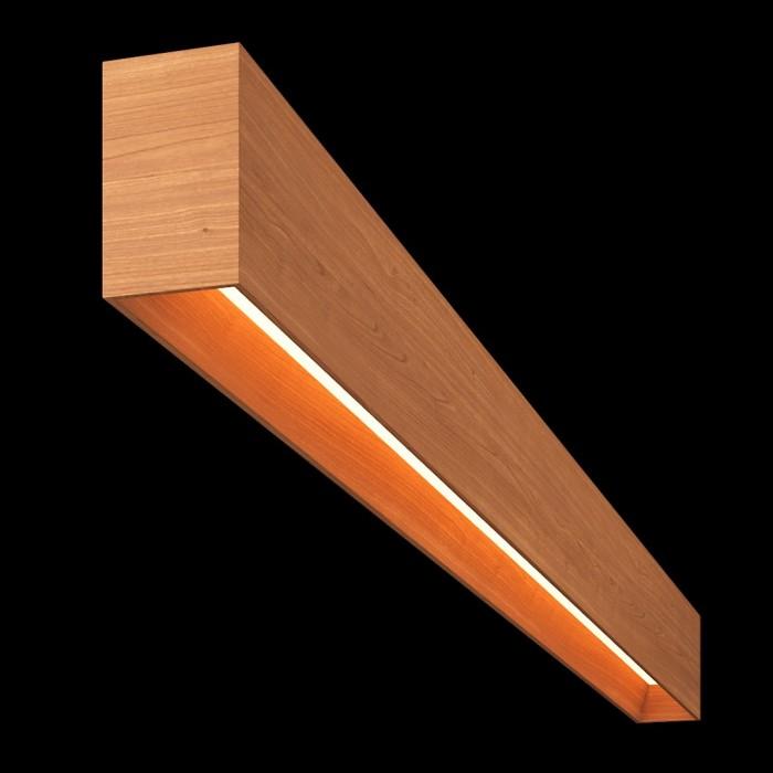 1Светильник из массива (груша) длина 1200мм 3000К, 30Вт