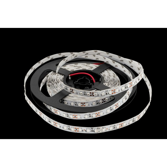 2Лента светодиодная эконом 2835, 120 LED/м, 9,6 Вт/м, 12В, IP20, Цвет: Зеленый