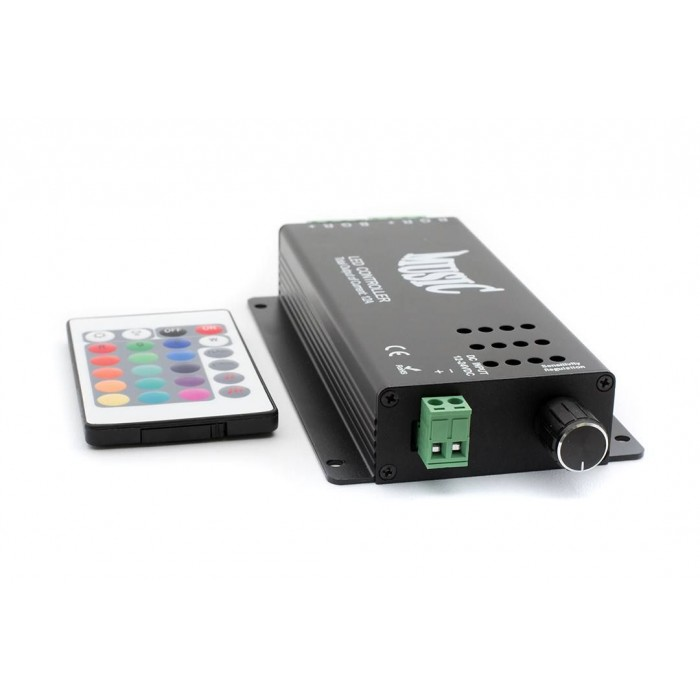 2LED RGB аудиоконтроллер Music 12 Вольт 120Вт