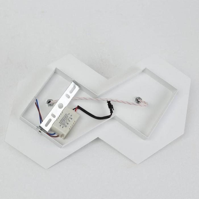 2Бра декоративное PALMIRA, белый, 6Вт, 4000K, IP20, GW-1101-2-6-WH-NW