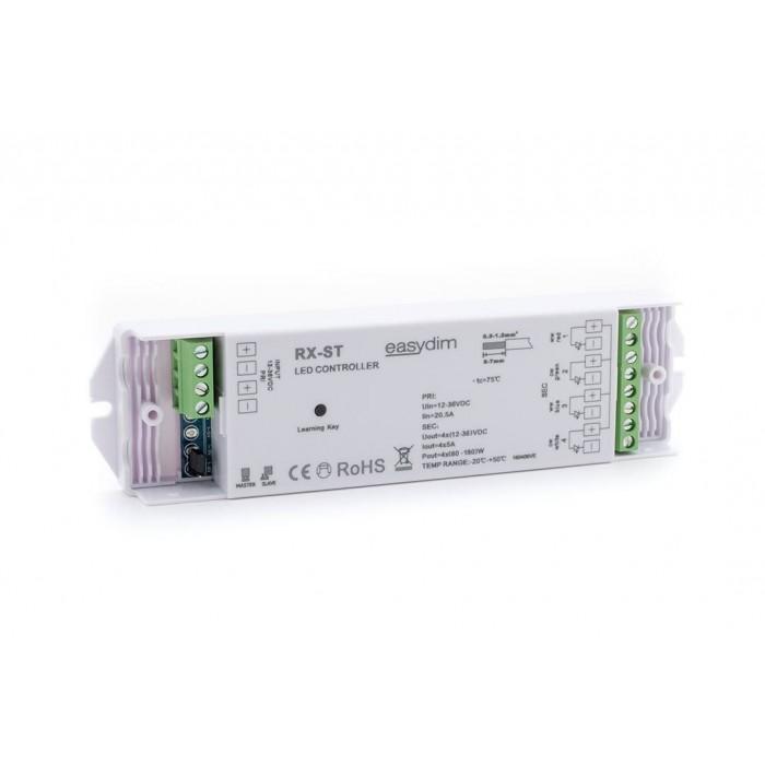 2Универсальный приемник-контроллер RX-ST для светодиодных лент RGB, RGB+W, MIX