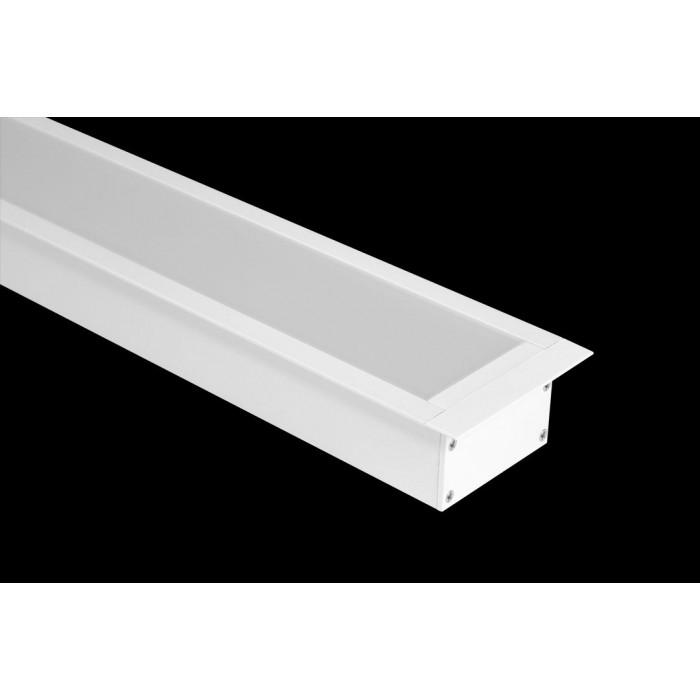 2Встраиваемый алюминиевый профиль LE.6332, белый