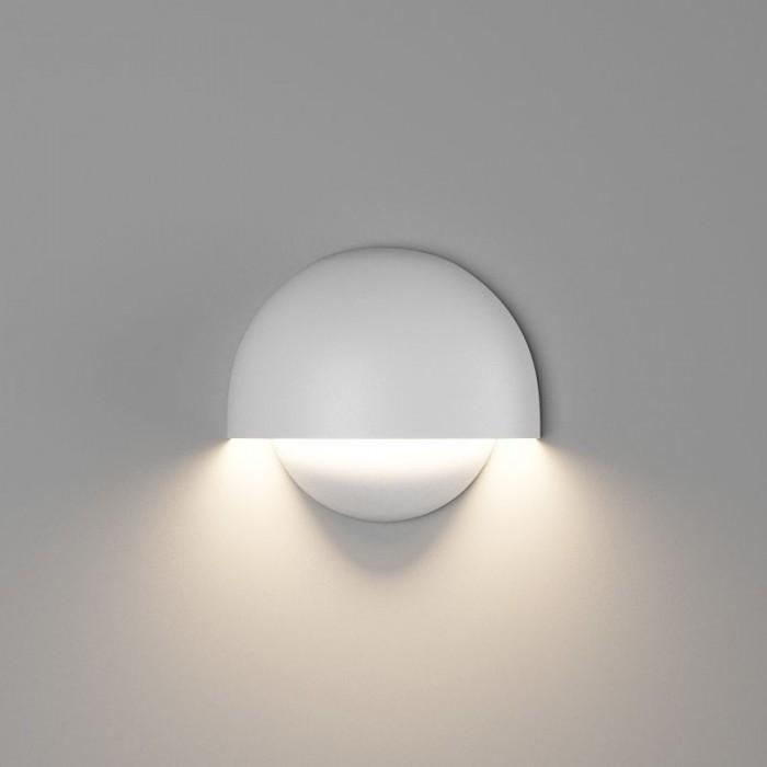 1Настенный светильник MUSHROOM, матовый белый, 10Вт, 4000K, IP54, GW-A818-10-WH-NW