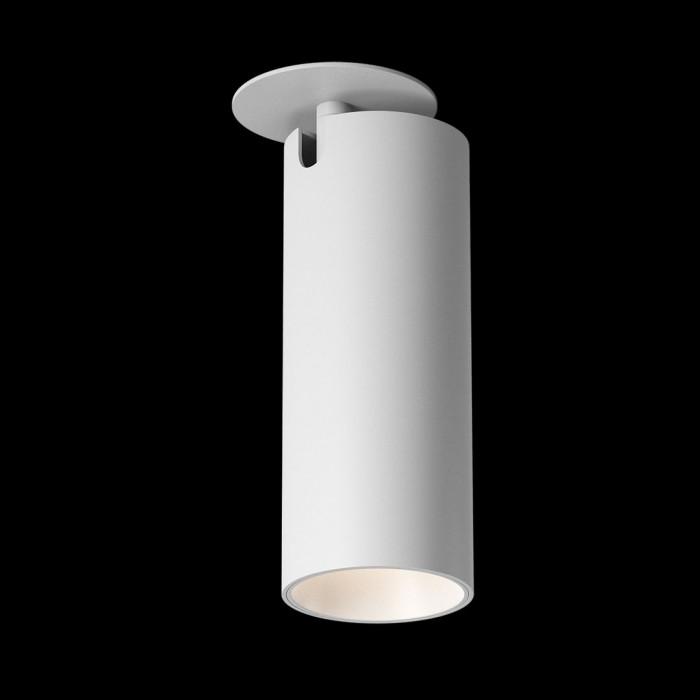2Светильник под лампу Gu10 потолочный встраиваемый поворотный, серия MJ-2037, белый, 35 (max)Вт, IP20