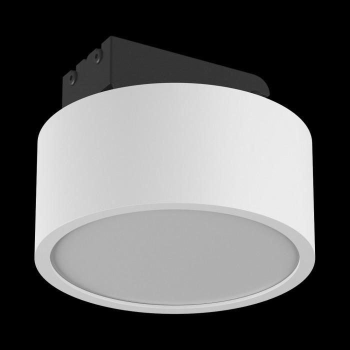 1Светильник светодиодный потолочный накладной наклонный, серия IMD, белый, 7Вт, IP44, Теплый белый (3000К)