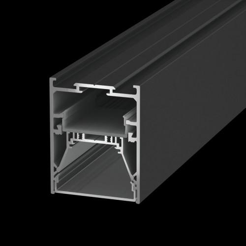 Подвесной/встраиваемый/накладной алюминиевый профиль L5570, черный