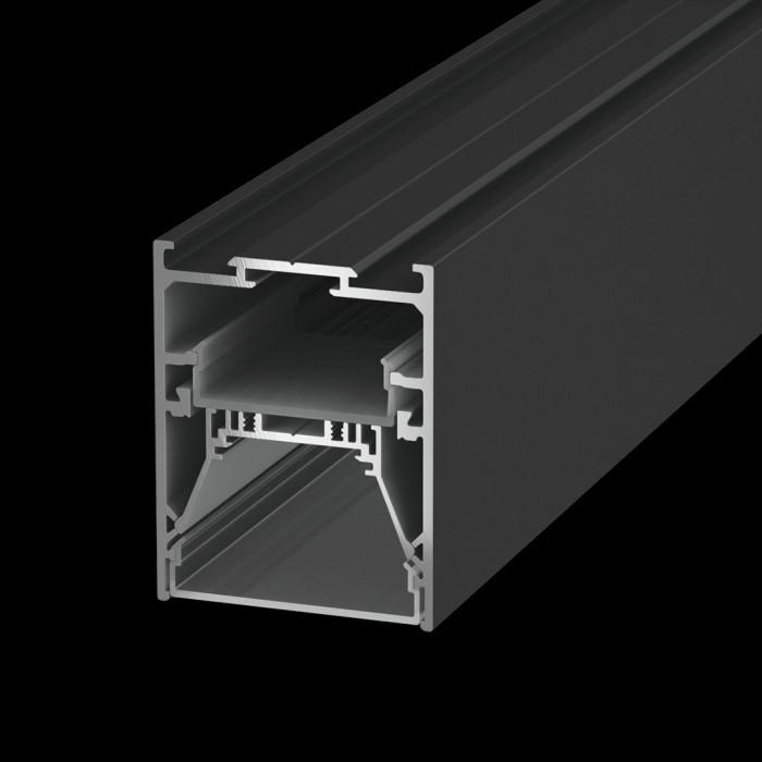 1Подвесной/встраиваемый/накладной алюминиевый профиль L5570, черный