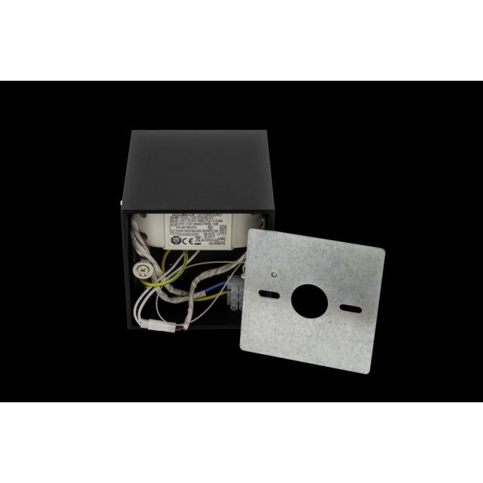 2Светильник светодиодный потолочный накладной, серия GW, черный, 10Вт, IP20, Теплый белый (3000К)