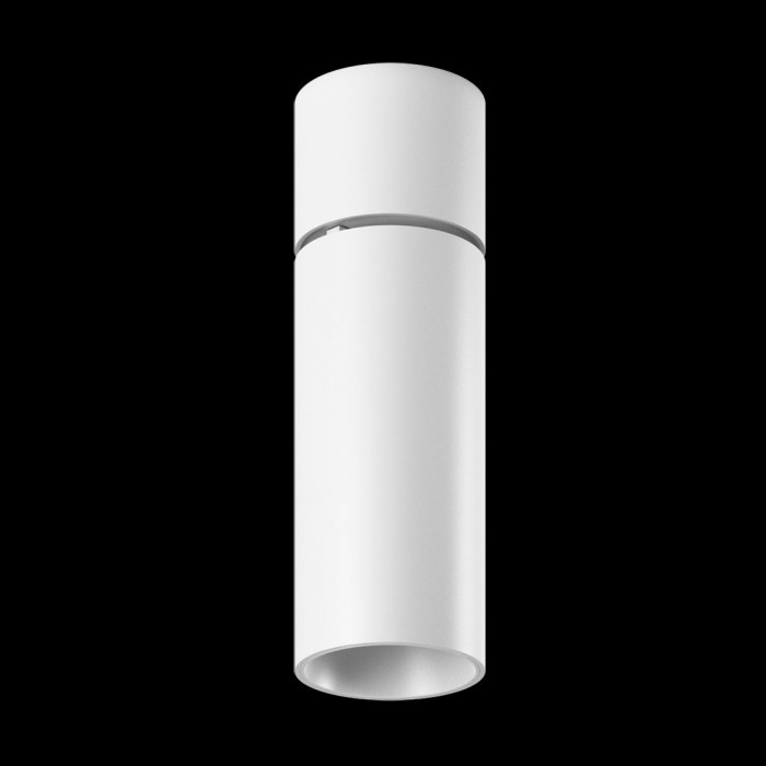 1Светильник светодиодный потолочный накладной поворотный, серия DL-UM9, белый, 13Вт, IP20, Нейтральный белый (4000К)
