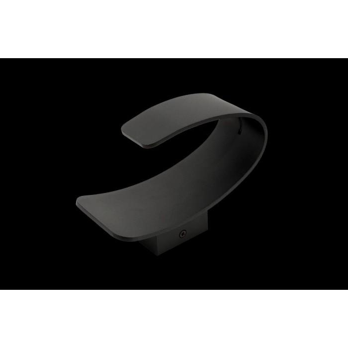 1Бра декоративное PIRA, черный, 5Вт, 3000K, IP20, GW-3518-5-BL-WW