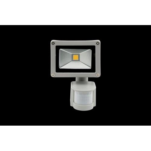Прожектор светодиодный с датчиком движения 6500К Холодный белыйK FL-COB-10-CW-S