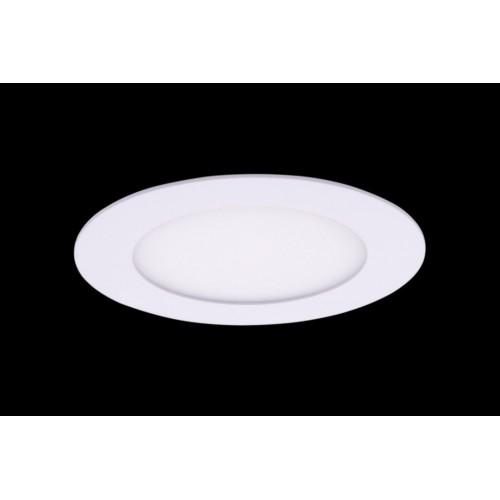 Светильник светодиодный потолочный встраиваемый PL, Белый, Пластик + алюминий, Нейтральный белый (4000-4500K), 6Вт, IP20 PL-R118-6-NW