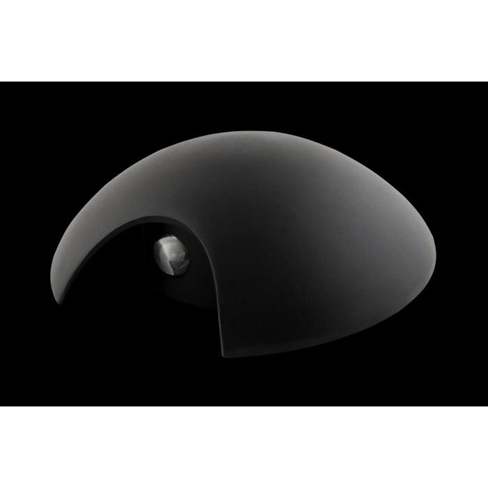 1Настенный светильник BRAND, черный, 2*3Вт, 3000K, IP54, LWA0121A-BL-WW