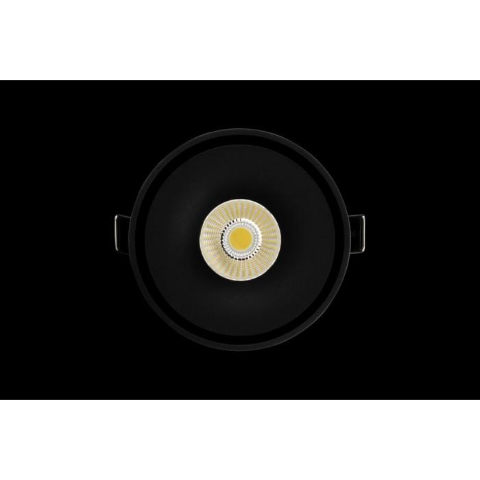 2Светильник светодиодный потолочный встраиваемый поворотный, серия WL, черный, 12Вт, IP20, Нейтральный белый (4000К)