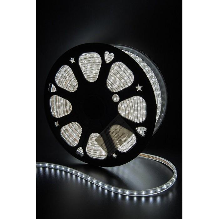 2Лента светодиодная 220, SMD3528, 60LED/м, кат 100м, 4,8 Вт/м, IP68, Холодный белый (6000-6500К Холодный белыйK)