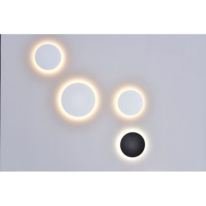 2Настенный светильник CIRCUS, белый, 9Вт, 3000K, IP54, GW-8663L-9-WH-WW