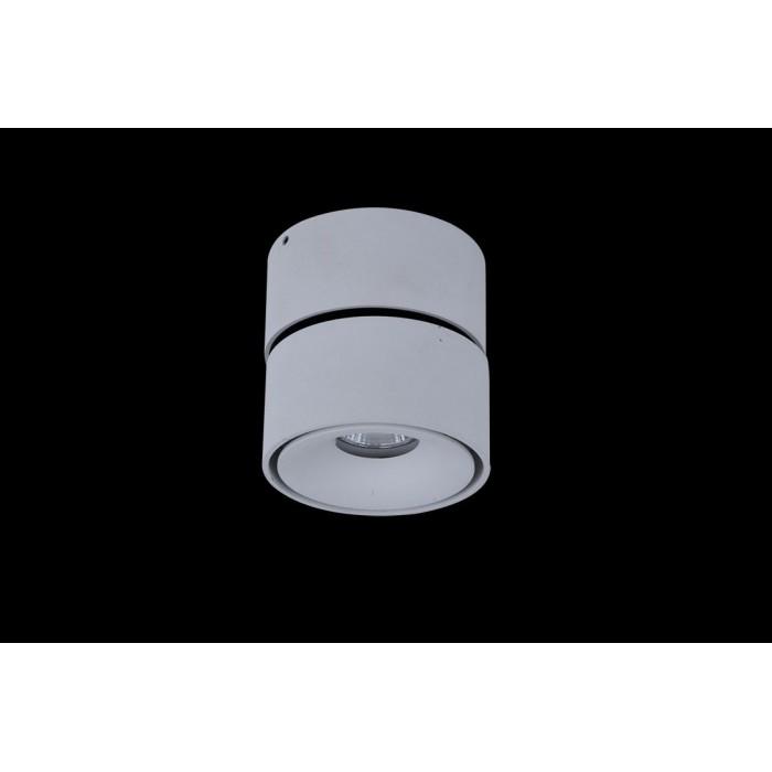 2Светильник светодиодный потолочный накладной поворотный, серия WL, белый, 12Вт, IP20, Нейтральный белый (4000К)