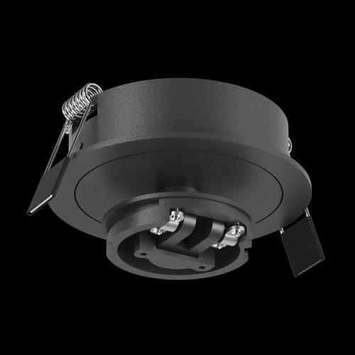 Крепление сменное М4 для светильников MINI VILLY, поворотное встраиваемое, цвет черный