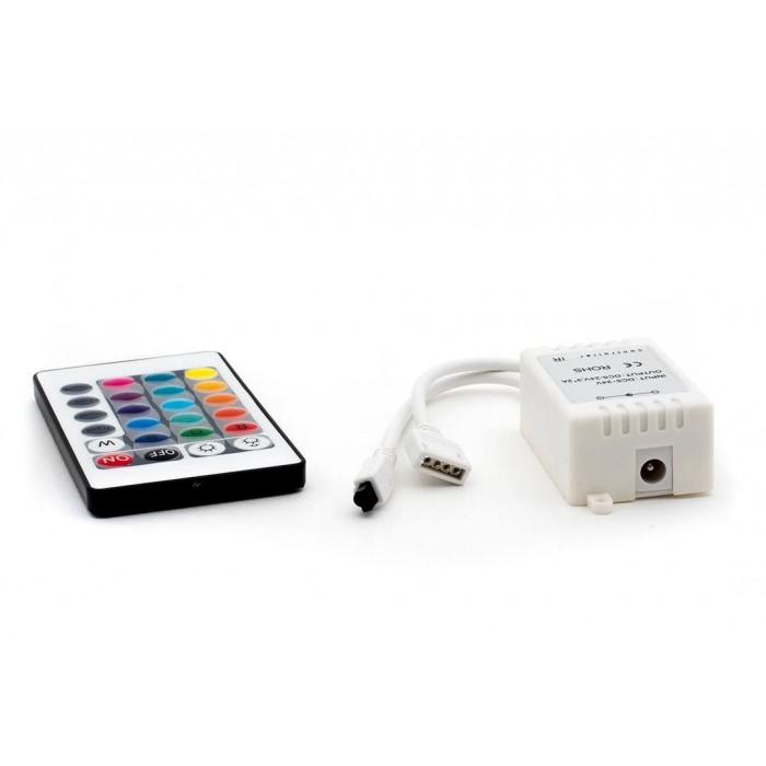 2LED RGB контроллер 6А 12/24 Вольт, ИФ 24 кн