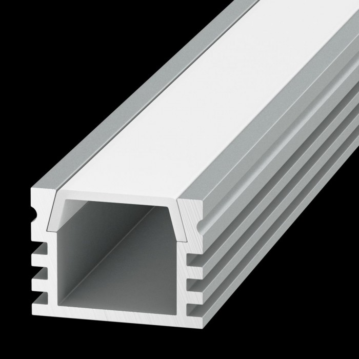 100986 Алюминиевый профиль накладной SF-1612