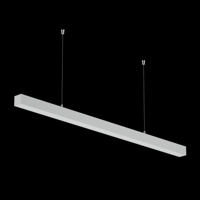 2Светильники из профиля I-Type-5050-25-65-NW: Профиль LS 5050, Лента 4x DSG 2835 WW 280L-V24-IP33, 700LED, 26W/m, LUX, подвесы. Без блока питания.
