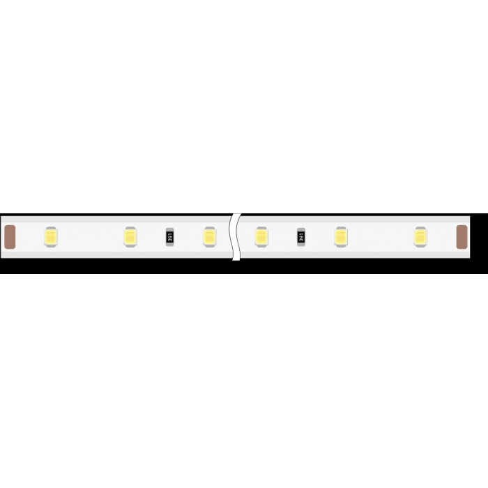 1Лента светодиодная 220, SMD3528, 60LED/м, кат 100м, 4,8 Вт/м, IP68, Холодный белый (6000-6500К Холодный белыйK)
