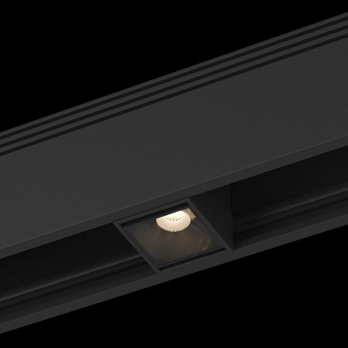 1Трековый светильник SY 2W черный 4000К SY-601231-BL-2-NW