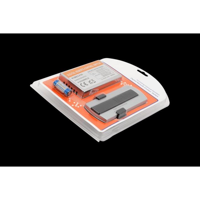 2Пульт дистанционного управления с контроллером на 220 Вольт 4-x зонный 1000 Вт, 4 канала, SW4-1000