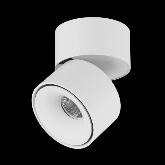 1Светильник светодиодный потолочный накладной поворотный, серия LK, Белый, 15Вт, IP20, Теплый белый (3000К)