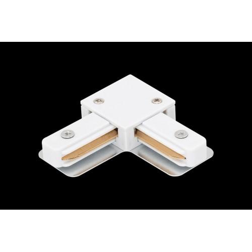 L коннектор для трековых систем, белый