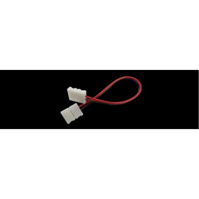 1Коннектор для ленты 5050 двуxсторонний (ширина 10 мм,длина провода 15 см )
